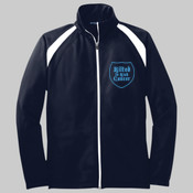 Logo - Adult Brushed Tricot Hook Jacket